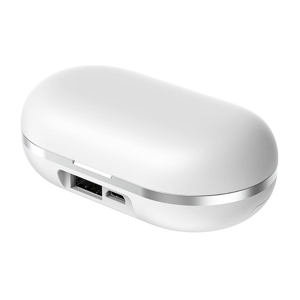 ZLT-01 TWS Wireless Bluetooth Headset With Charging Bin In-ear Noise Cancelling Bluetooth Earphone Earbuds With Charge Box Mini
