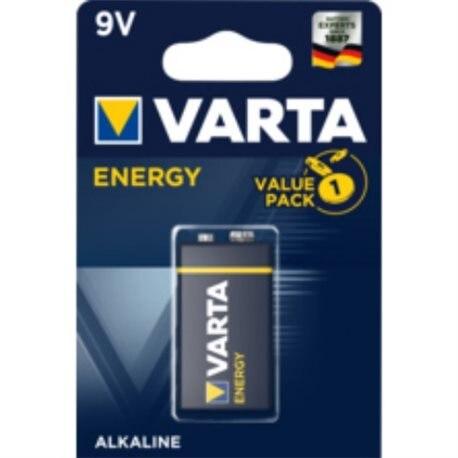 ALKALINE Battery 6LR61 9V POWER VARTA