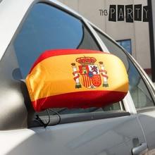 Крышка зеркала заднего вида с испанским флагом(2 шт. в упаковке