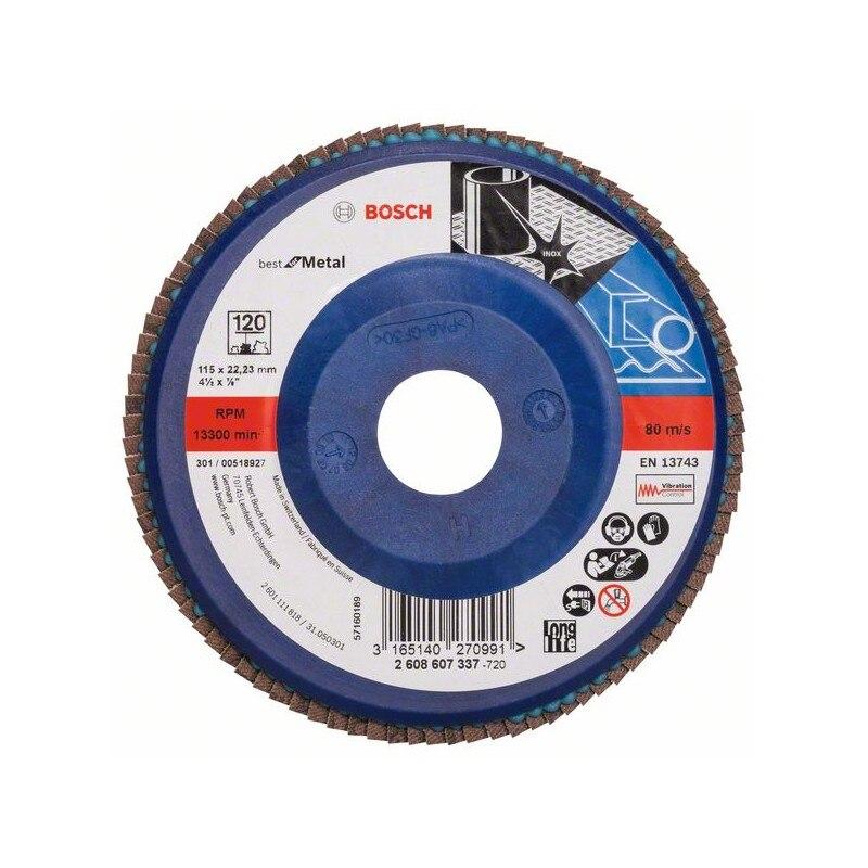 BOSCH-Dish Polisher X571, Best For Metal D = 115 Mm
