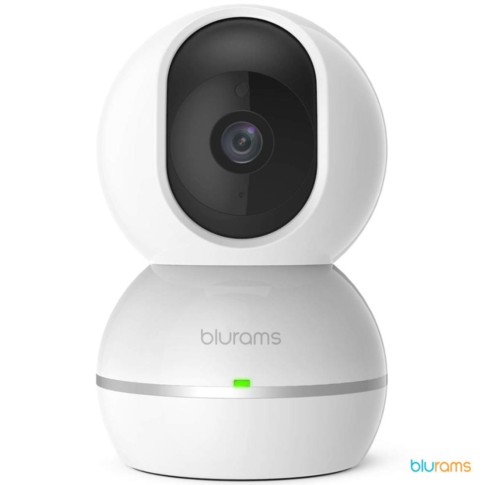 Blurams Snowman 1080p Fhd Camera Surveillance Dome For Hogar-WiFi Bidirecional DET. Intelligent Motion/Sound