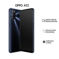 OPPO A72, объемом памяти 4 Гб/128 ГБ, смартфон, 6,5 дюймэкран, Двойные стереодинамики, 5000 мА/ч, батарея, ColorOS 7,1, 2 года гарантии