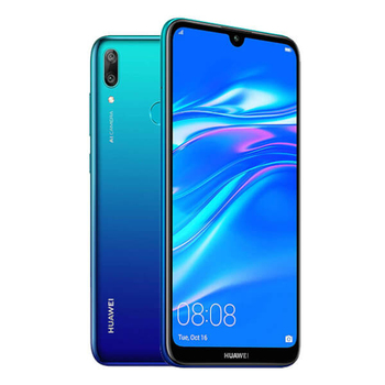 Перейти на Алиэкспресс и купить Huawei Y7 (2019) 3 Гб/32 ГБ Aurora Blue Dual SIM DUB-LX1