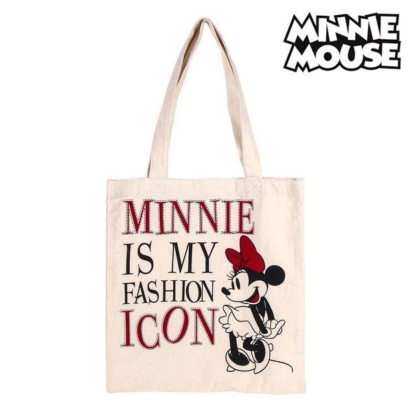 Multi-use Bag Minnie Mouse 702892 White Cotton