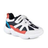 FLO 346. P19K. 133 BOOTIES PHYLON SCHWARZ WEIßE Männliche Kind Sneaker Schuhe VICCO-in Turnschuhe aus Mutter und Kind bei