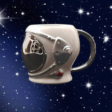 Mug Creative Astronaut Turkish Coffee Helmet-Design Breakfast Kitchen Child Drink Adult