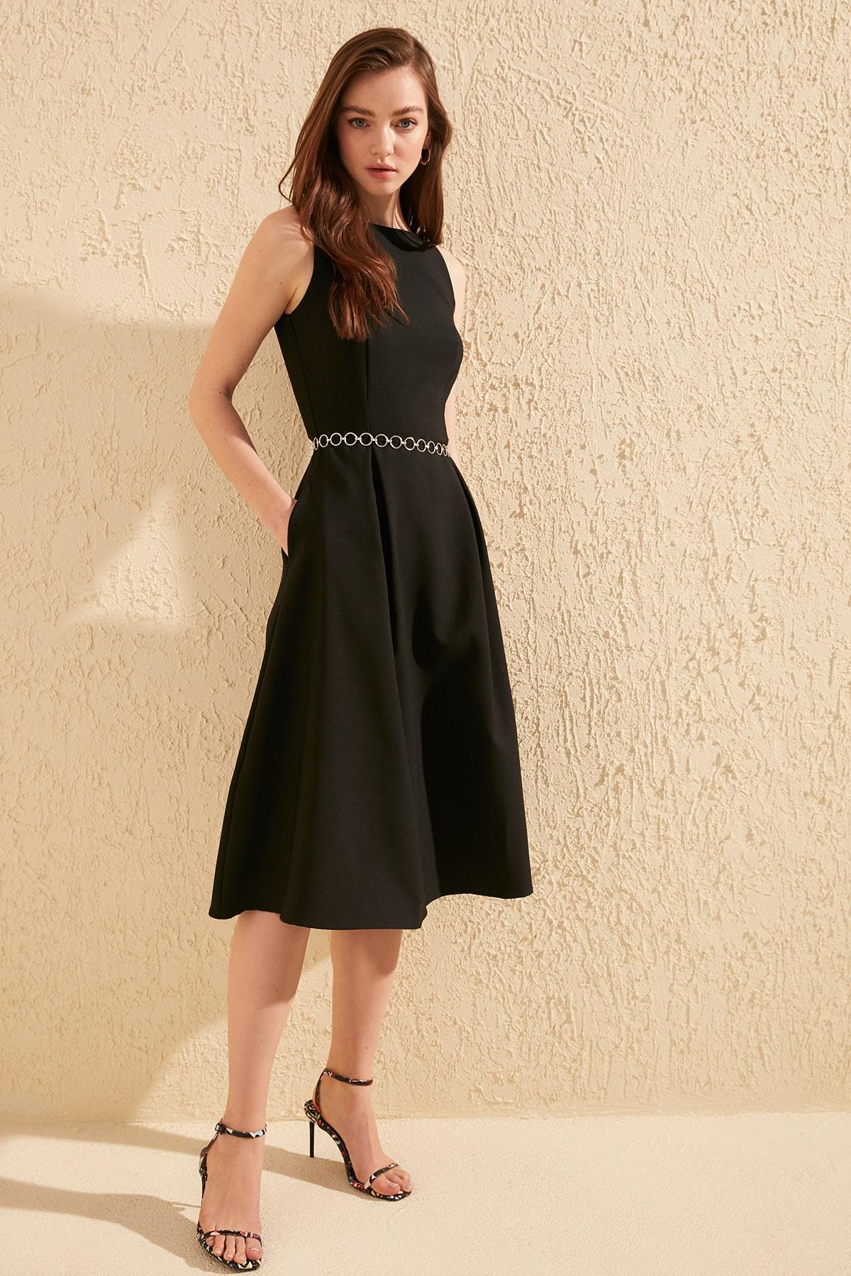 Trendyol Piliseli Dress TWOSS20EL0980