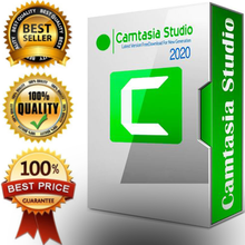 Camtasia Studio 2020 -Full version for Windows - Lifetime Activation & Fast delivery