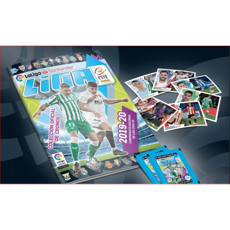 Pack Album + 46 Envelopes Chromos Soccer League East 2019-20 (Panini)
