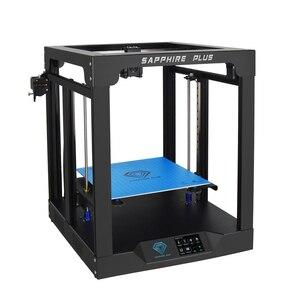 Image 4 - Stampante 3D Twotrees Sapphire Plus COREXY BMG estrusore dimensione massima di stampa 300*300*350mm kit fai da te 3.5 Touch Screen FDM doppio asse Z