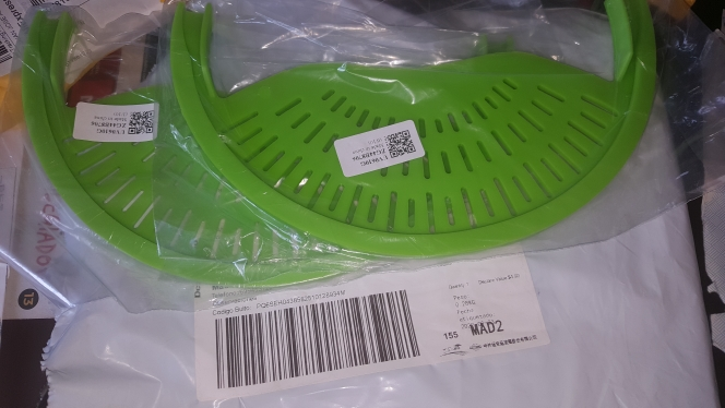 Food Oil Drainer Silicone Colander photo review