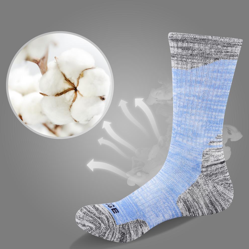 Image 4 - YUEDGE Brand Women's Cushioued Cotton Crew Socks Comfort Breathable Casual Women's Socks( 5 Pairs/Pack)-in Socks from Underwear & Sleepwears