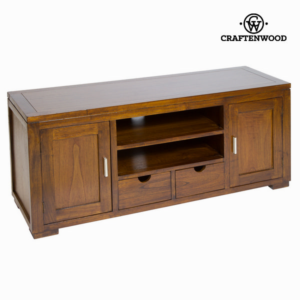 TV Table Mindi Wood (130 X 45 X 55 Cm) - Chocolate Collection By Craftenwood