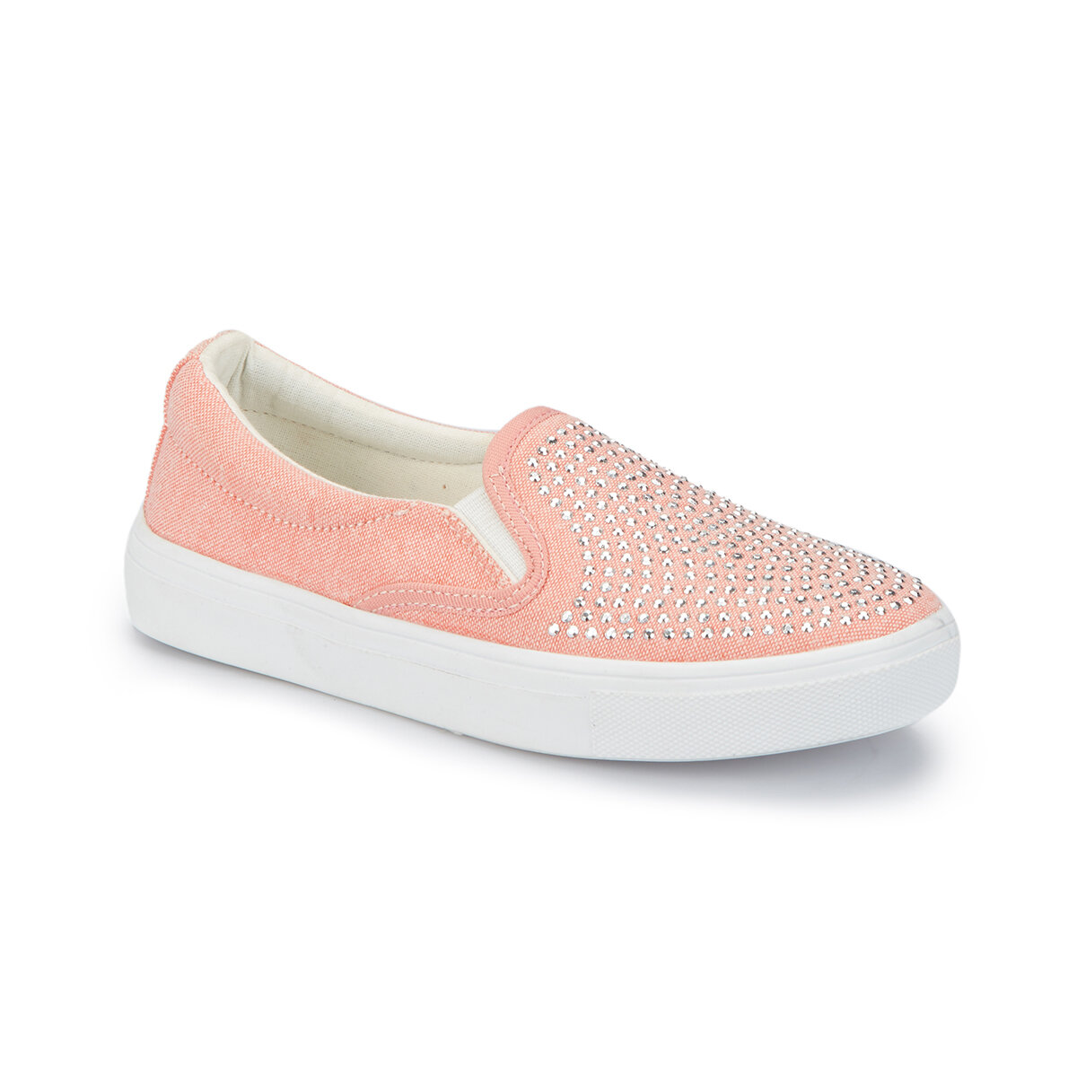FLO NIEL Salmon Girl Kids Slip On Shoes PINKSTEP