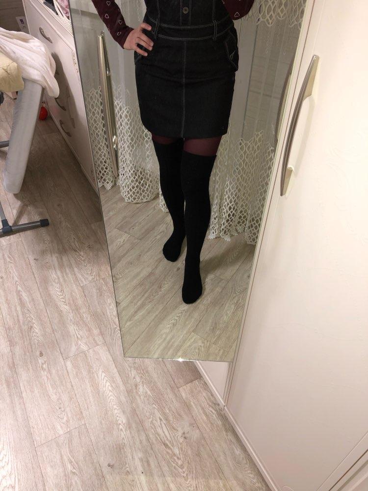 Knee Socks Women Cotton Thigh High Over The Knee Stockings  Warm Long Stocking women Sexy Medias  winter 2018 woman Stockings    - AliExpress