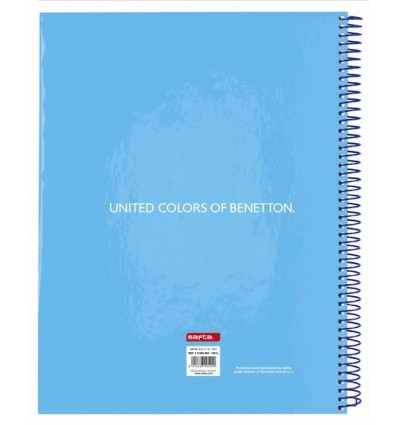 NOTEPAD A4 MICRO120 H BENETTON