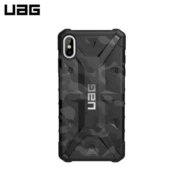 Защитный чехол UAG для iPhone XS Max серия Pathfinder цвет Черный камуфляж/111107114061/32/4