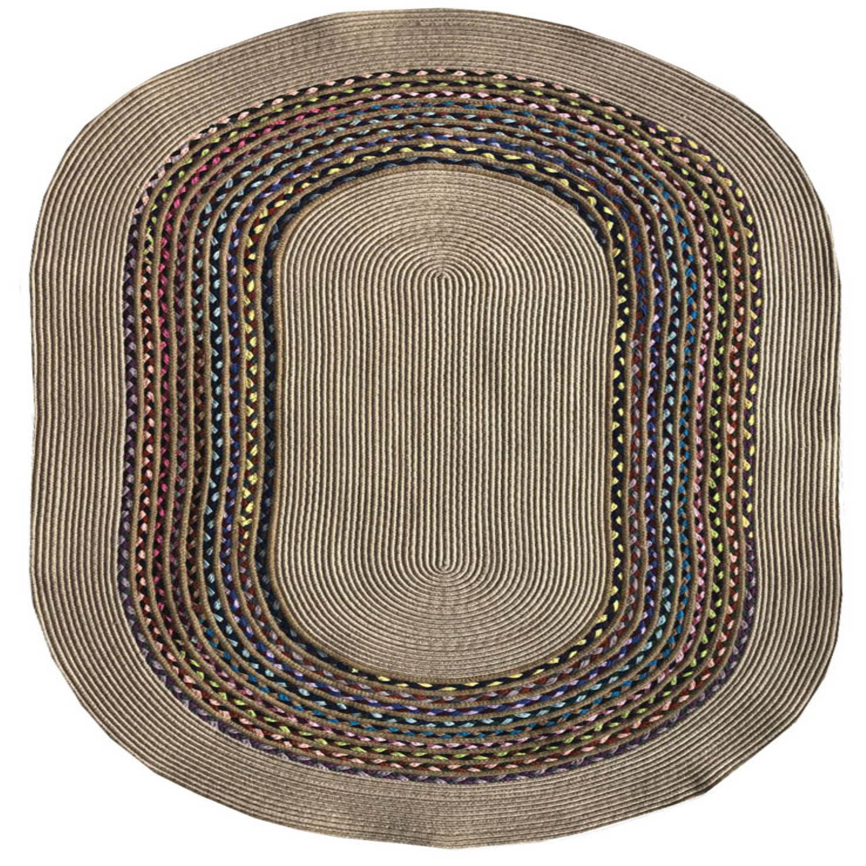 Else Jute Carpet Sisal Natural Fiber Collection Hand Woven Natural Jute Area Rug For Home Living Room
