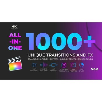 Unique Transitions and FX V6 Final Cut Pro X