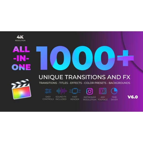 Unique Transitions and FX V6 Final Cut Pro X