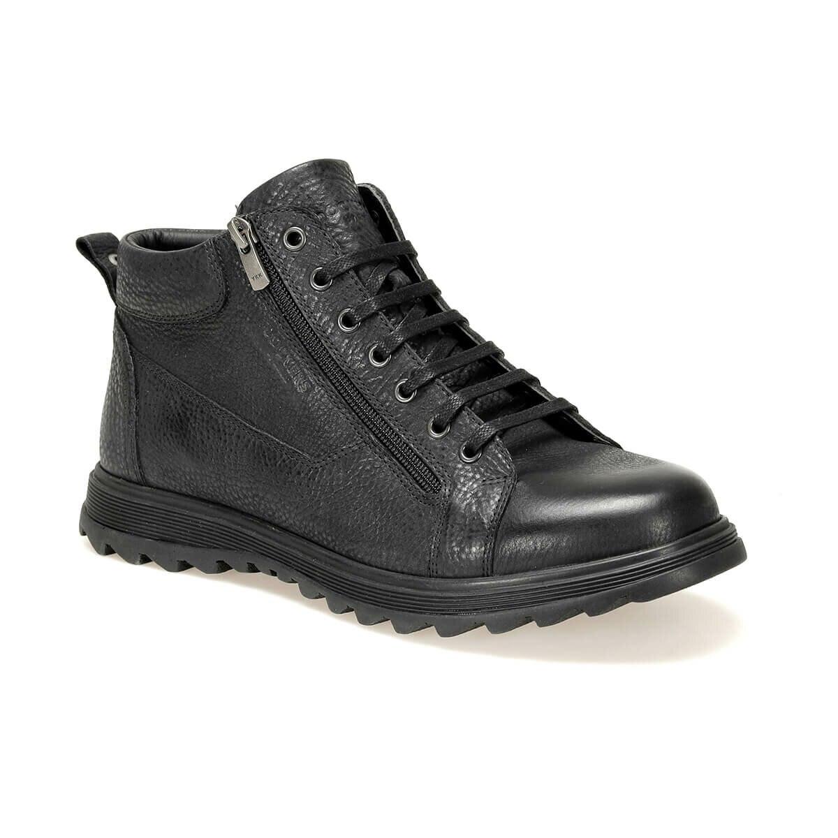 FLO 227145 9PR Black Men Boots By Dockers The Gerle