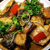美食记之十八:家常烧瓦块咸鱼的做法图解7