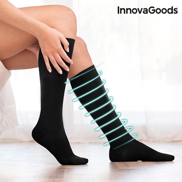 InnovaGoods Anti-fatica Compression Calzini e Calzettoni