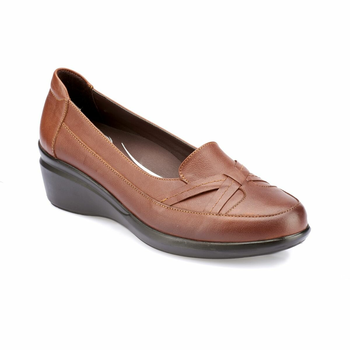 FLO 82. 100135.Z Tan Women 'S Shoes Polaris 5 Point