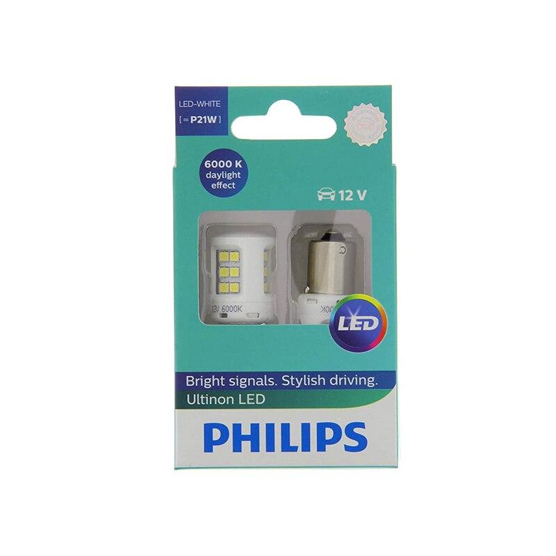 Lámpara LED Philips luz de advertencia para coche 11498ULWX2 luz blanca luces LED lámpara pequeña