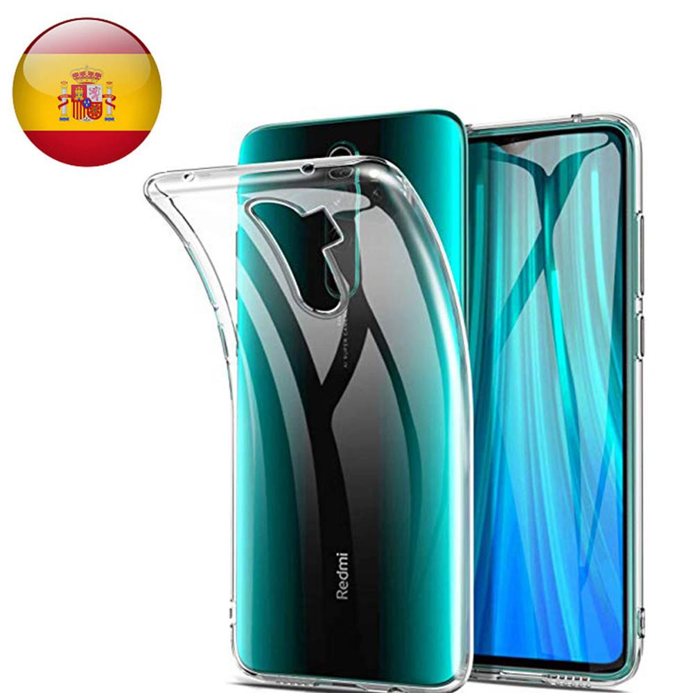 TPU Gel Case Silicone Protective Shell For Xiaomi Redmi Note 8 Transparent
