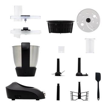 Mutfak Robotu çok Fonksiyonlu ChefBOT Kompakt Buhar PRO IKOHS 10 Hız Tarzı Thermomix 100 1000W Zamanlayıcı Up 120 ° Ve Vapur Yemek Tarifleri