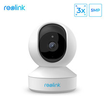 Reolink 5MP Ptz Home Security Camera Wifi 2.4G/5G 3x Optische Zoom Pan/Tilt 2 manier Audio Indoor Sd Card Slot Remote Toegang E1 Zoom