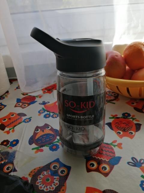 Water Plastic Bottle 550ml 850ml  Gourde En Plastique Sport Shaker Bottle Protein Shaker Drink Bottle Plastic With Straw Travel-in Water Bottles from Home & Garden on AliExpress