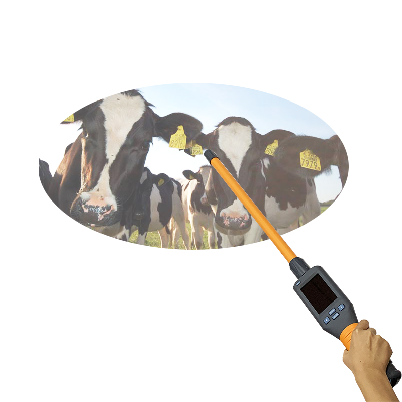 125khz, 134.2khz ISO11784/785 Bluetooth Stick EID Ear Tag Reader For Cattle, Cow Farm Identification