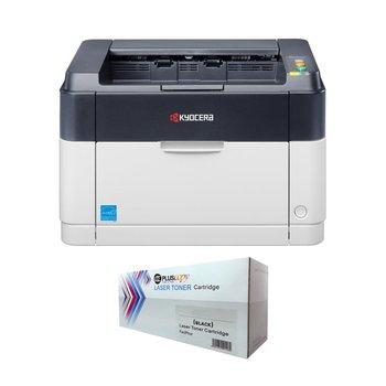 Kyocera FS-1060DN Mono Laser Printer and 2500 Sheet Full Filled Pluscopy Toner