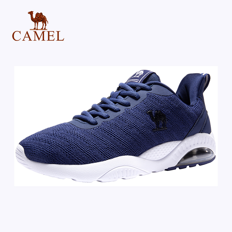 CAMEL Men Women Air Cushion Running Shoes Breathable Comfortable Outdoor Jogging Walking Sneakers Sport Shoes