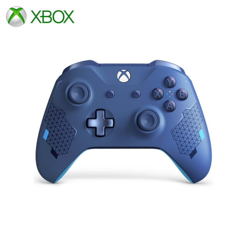 Геймпад для консоли Xbox One Microsoft Sport синий|Геймпады|   | АлиЭкспресс