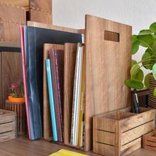 Reka-книжный шкаф и держатель журналов-орех-вудсака