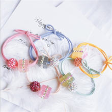 Корейское милое кольцо для волос квадратное необычное простое
