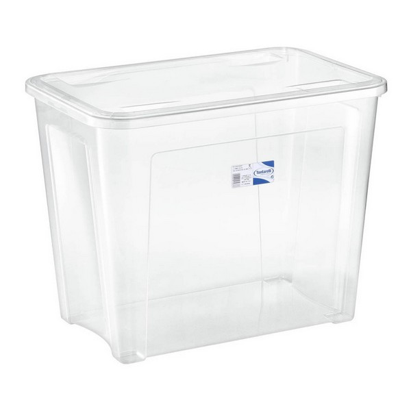 Storage Box with Lid Combi Tontarelli 67 L Transparent (59 X 39 x 46 cm)|  - title=