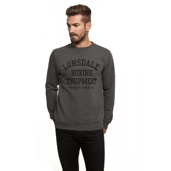 Lonsdale man sweatshirt round neck gray color (Louai 18597) цена 2017