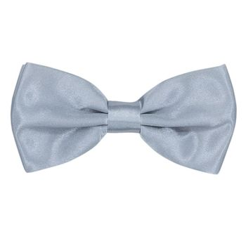 Men's bow tie (cotton, gray) 52707