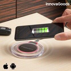 InnovaGoods bezprzewodowa ładowarka qi do smartfonów w Ładowarki do tabletów od Komputer i biuro na