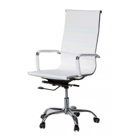 Swivel Chair Gas With Arms And High Back.