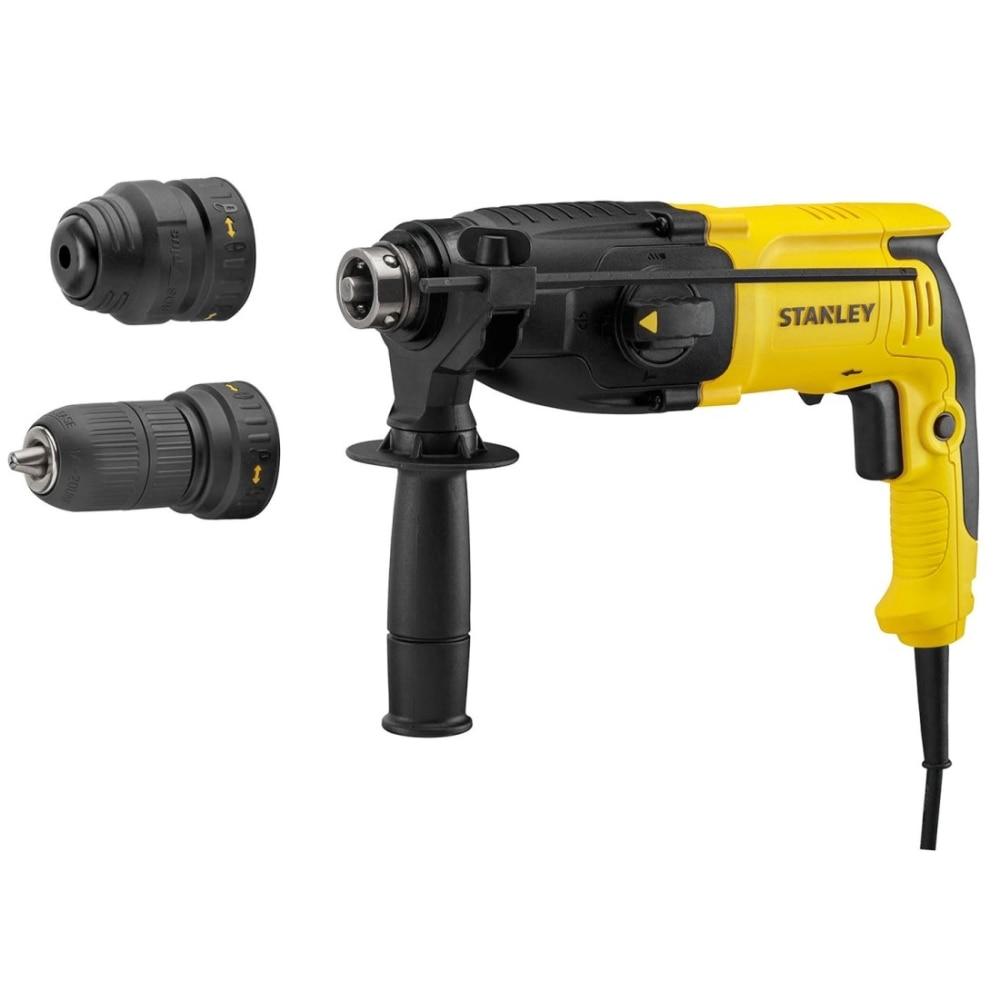 Electric hammer drill Stanley SHR264K power 800 W impact energy 34 J SDS + key holder free shipping