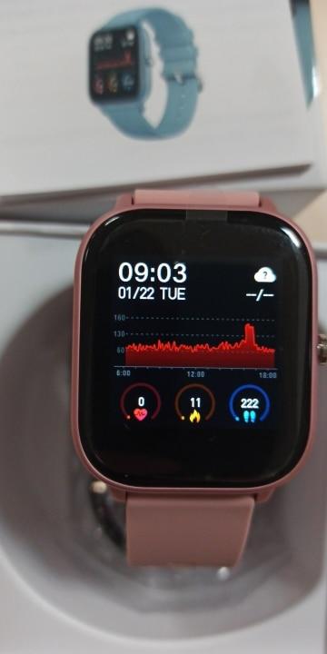 COLMI P8 1.4 inch Smart Watch Men Full Touch Fitness Tracker Blood Pressure Smart Clock Women GTS Smartwatch for Xiaomi|Smart Watches| |  - AliExpress