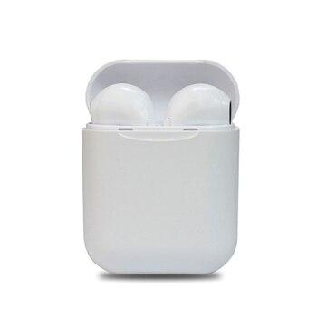 Auriculares Inalambrico I11 Caja blanca tipo airpods Bluetooth compatible iPhone Samsung Huawei Todos Telefonos Cascos