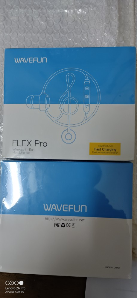 Wavefun Flex Pro Quick Charging Bluetooth Earphone Sports Wireless Headphones AAC Stereo Headset for Phone Xiaomi iPhone Android|bluetooth headset for phone|bluetooth headset|headset for phone - AliExpress