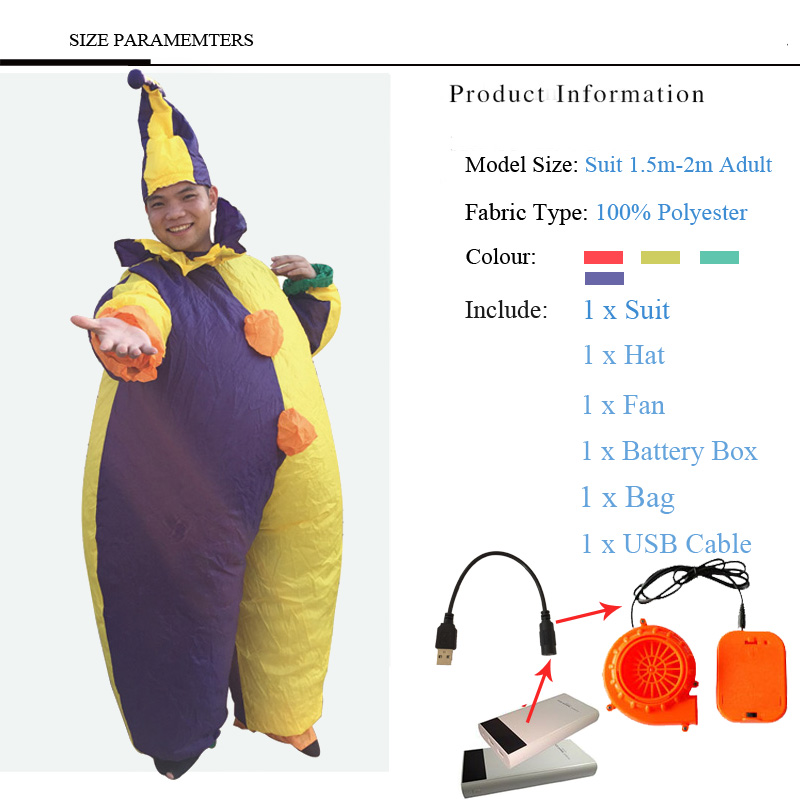 2018 Inflatable Halloween Costume For Adult Kids Fan T-rex Gorilla Sumo Cow Horse Cowboy Unicorn Dinosaur Inflatable Costume 4 (13)