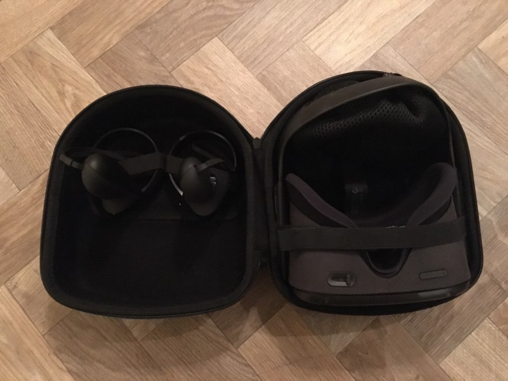 Acessórios de óculos VR/AR Armazenamento Bolsas Samsung